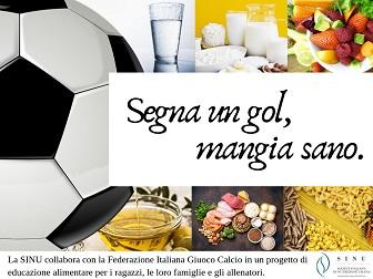 Score a goal, eat healthy