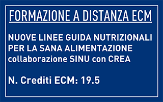 Online course: New Food Based Dietary Guidelines for healthy eating, by SINU and CREA